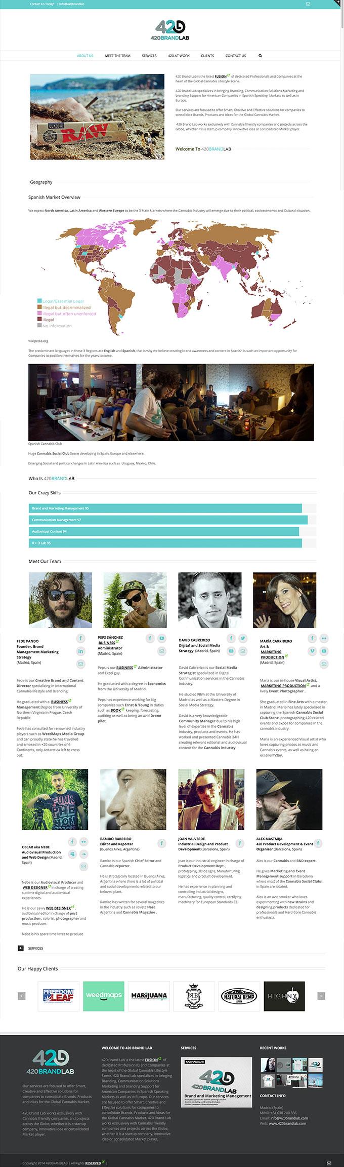 WEB 420 BRAND LAB